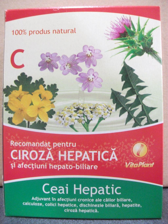 Ceai ciroza hepatica vitaplant