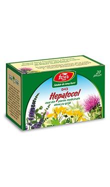 Ceai hepatocol, doze - Fares