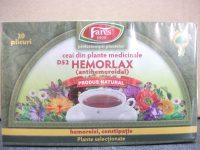 Ceai hemorlax, doze - Fares