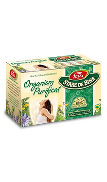 Ceai organism purificat, doze - Fares