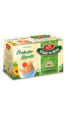 Ceai protector hepatic, doze - Fares