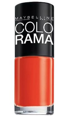 Lac de unghii Colorama 313 Haute Orange - Maybelline