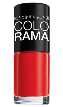 Lac de unghii Colorama 320 Pop Red - Maybelline
