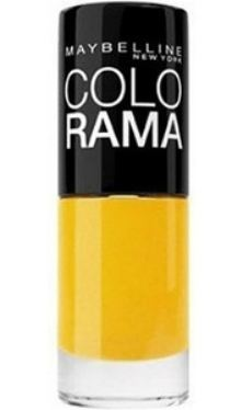 Lac de unghii Colorama 749 Electric Yellow - Maybelline