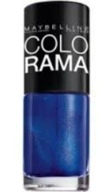 Lac de unghii Colorama 80 Electric Blue - Maybelline