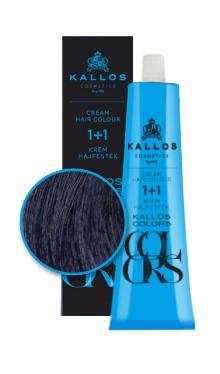 Kallos colors vopsea cremă 1C