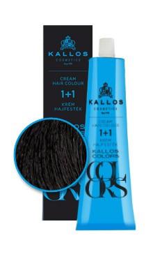 Kallos colors vopsea cremă 1N