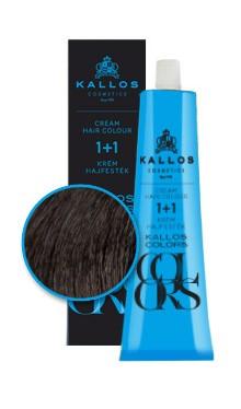 Kallos colors vopsea cremă 2N