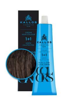 Kallos colors vopsea cremă 3N