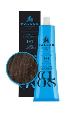 Kallos colors vopsea cremă 4N