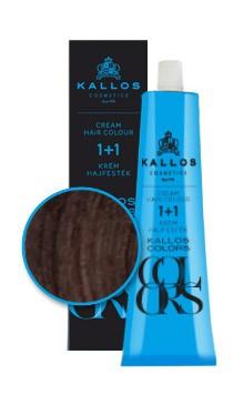 Kallos colors vopsea cremă 5R
