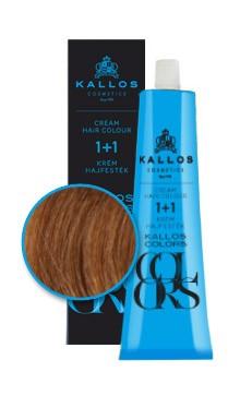 Kallos colors vopsea cremă 8R