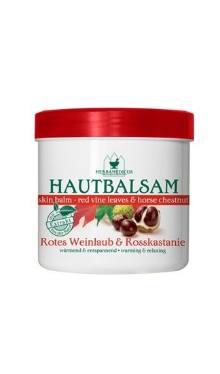 Balsam cu extract de frunze de viţă de vie şi castane - Herbamedicus
