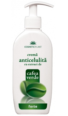 Cremă anticelulită cu extract de cafea verde - Cosmetic Plant