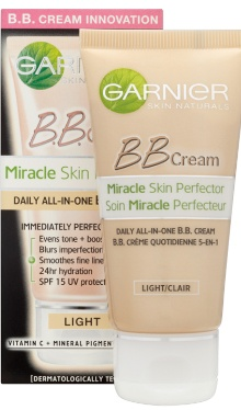 Cremă BB Miracle Skin Perfector Light - Garnier