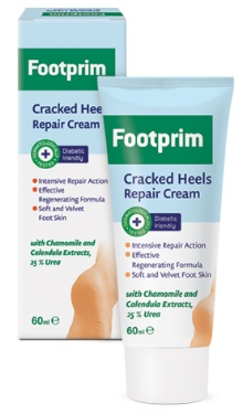 Cremă cu efect de repararea a călcâielor crăpate - Footprim
