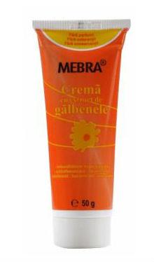 Cremă cu extract de gălbenele - Mebra