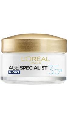 Cremă de noapte Age Specialist 35+ - L'Oreal Paris