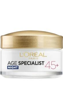 Cremă de noapte Age Specialist 45+ - L'Oreal Paris
