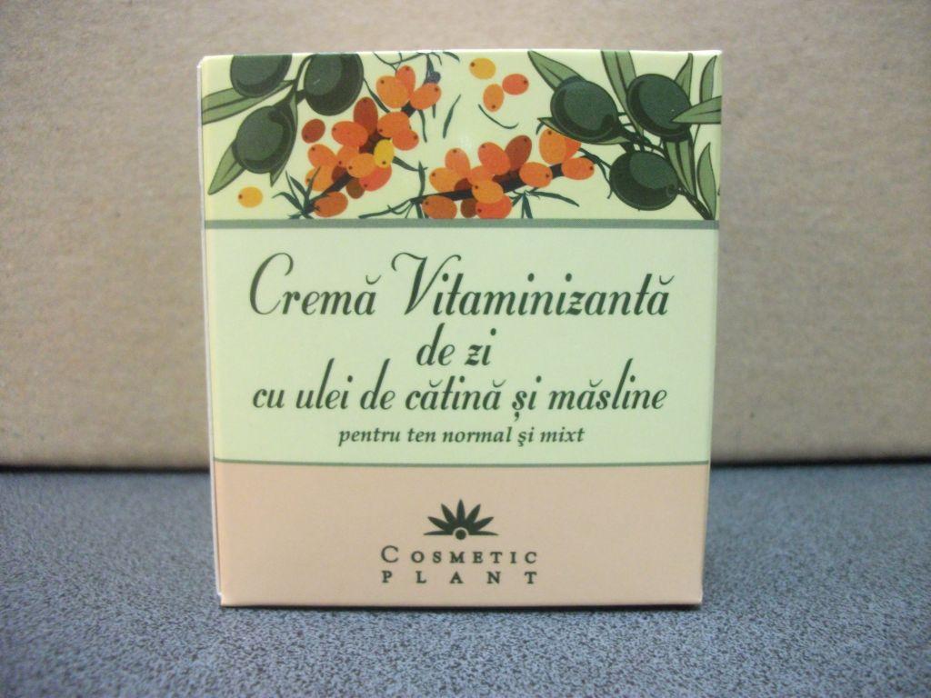 Crema de zi vitaminizanta cu ulei de catina si masline