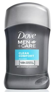 Deodorant Stick Clean Comfort - Dove Men