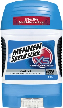 Deodorant gel Multi-Protect X5 - Mennen Speed Stick