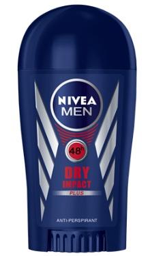 Deodorant Stick Dry Impact Plus - Nivea Men
