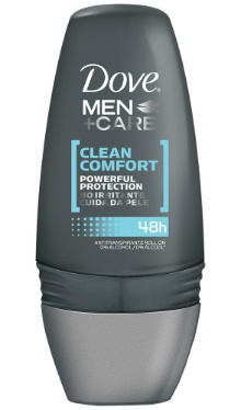 Deodorant Roll-on Clean Comfort - Dove Men