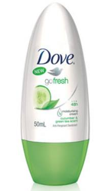 Deodorant Roll-on Go Fresh Cucumber & Green Tea - Dove