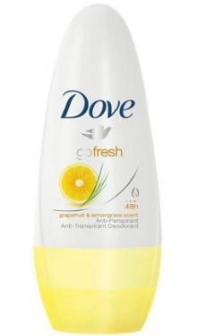 Deodorant Roll-on Go Fresh Grapefruit & Lemongrass – Dove