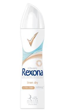Deodorant femei spray linen dry - Rexona