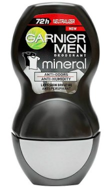 Deodorant Roll-on Black and White Men - Garnier