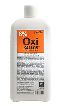 Kallos Emulsie Oxidantă Parfumată, Kallos 6%