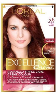 Vopsea de păr Excellence Creme 5.6 - L'Oreal