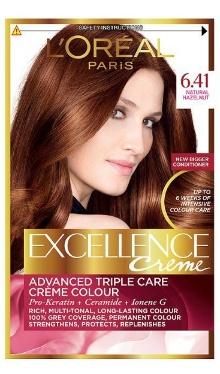 Vopsea de păr Excellence Creme 6.41 - L'Oreal