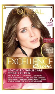 Vopsea de păr Excellence Creme 6 - L'Oreal