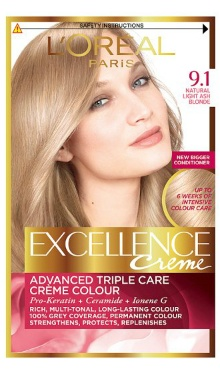 Vopsea de păr Excellence Creme 9.1 - L'Oreal