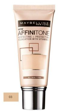 Fond de ten Affinitone 03 Light Sand Beige - Maybelline