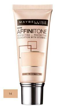 Fond de ten Affinitone 14 Creamy Beige - Maybelline