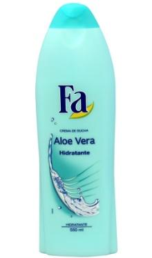 Gel de duş hidratant Aloe Vera - Fa