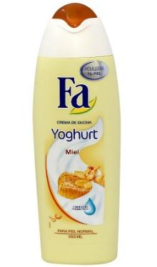 Gel de duş Yoghurt Miere - Fa