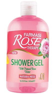 Gel de duș Rose Therapy Naturalness - Farmasi