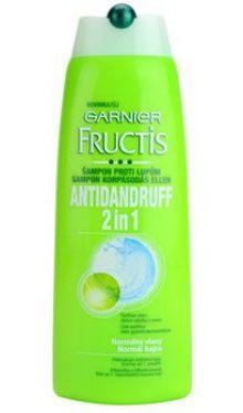 Şampon de păr Fructis Antidandruff 2in1 - Garnier