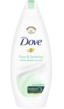 Gel de duș Pure & Sensitive - Dove