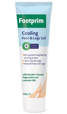 Gel răcoritor pentru picioare - Footprim