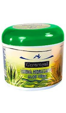 Cremă hidratantă Aloe Vera - Geroroyal