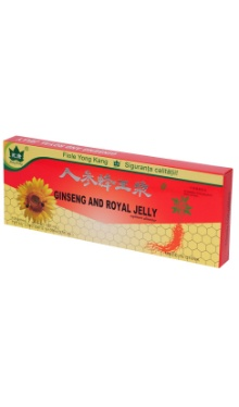 Ginseng şi Royal jelly 200+300mg
