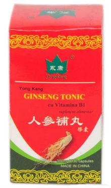 Ginseng tonic cu vitamina B1 - Yong Kang