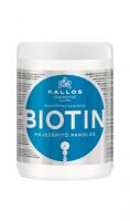 Kallos KJMN Biotin, mască pentru înfrumusețarea părului