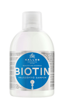 Şampon pentru înfrumusețarea părului - Kallos KJMN Biotin
